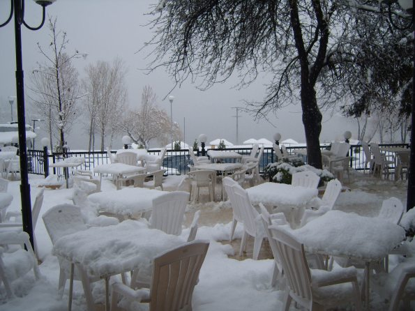 Macedonia in the snow