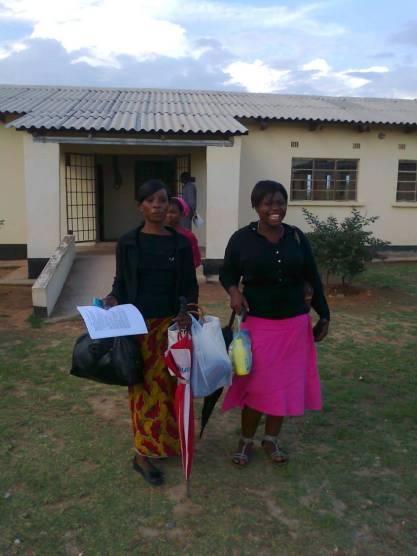 Teachers in Dedama School