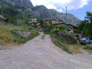 In the Albanian mountains